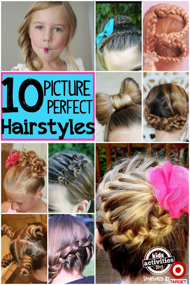 10 Picture Day Hairstyles For Girls