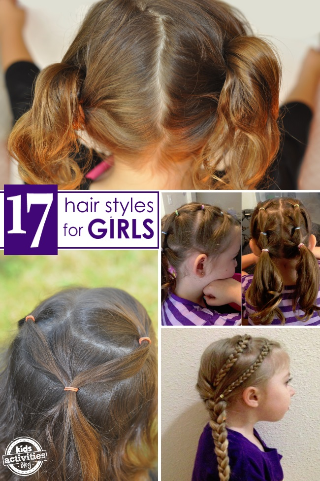 17 Hair Styles for Girls
