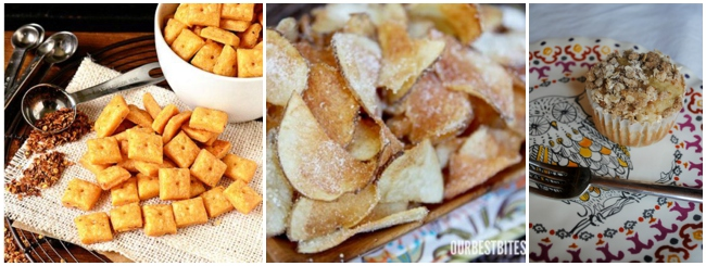 18 homemade snack recipes for picky eaters