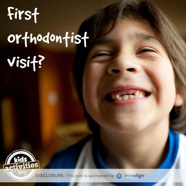 First Orthodontist Visit - Kids Activities Blog