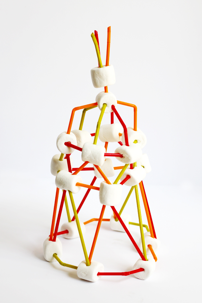 How To Build a (Jumbo) Marshmallow Tower