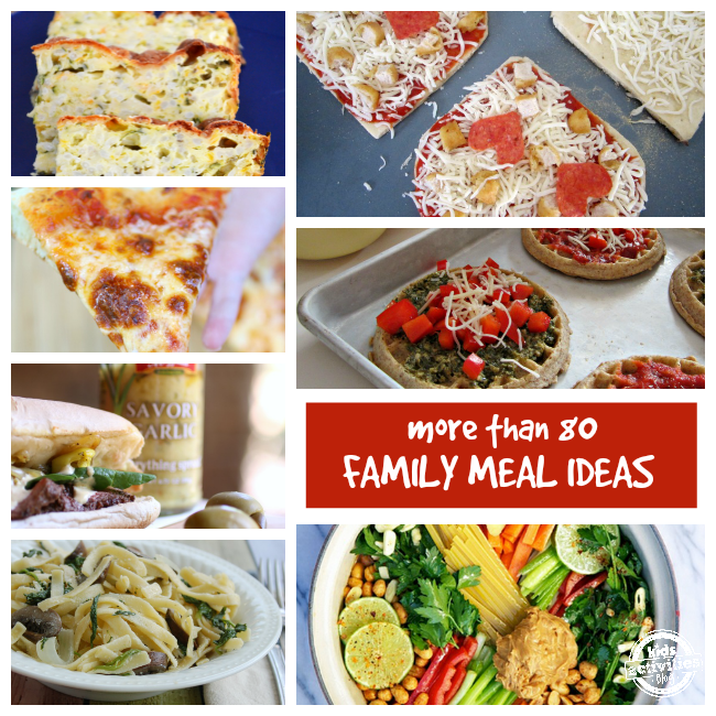 80+ Delicious Family Meal Ideas