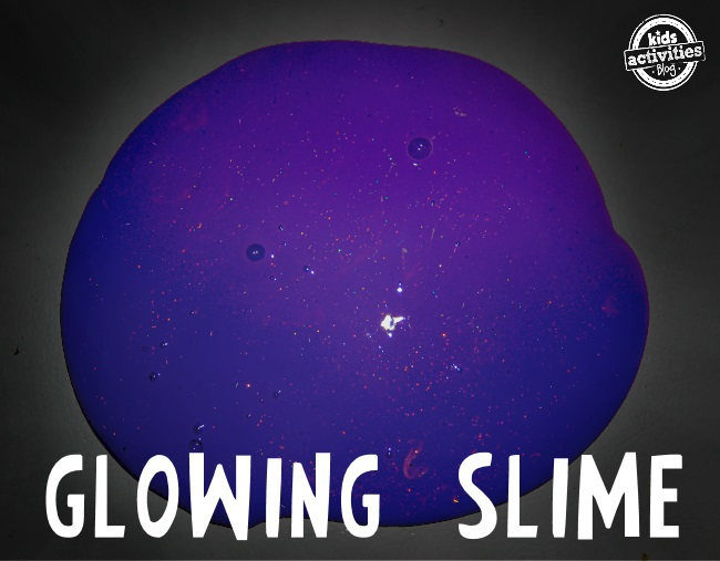 ewwwy glowing slime recipe