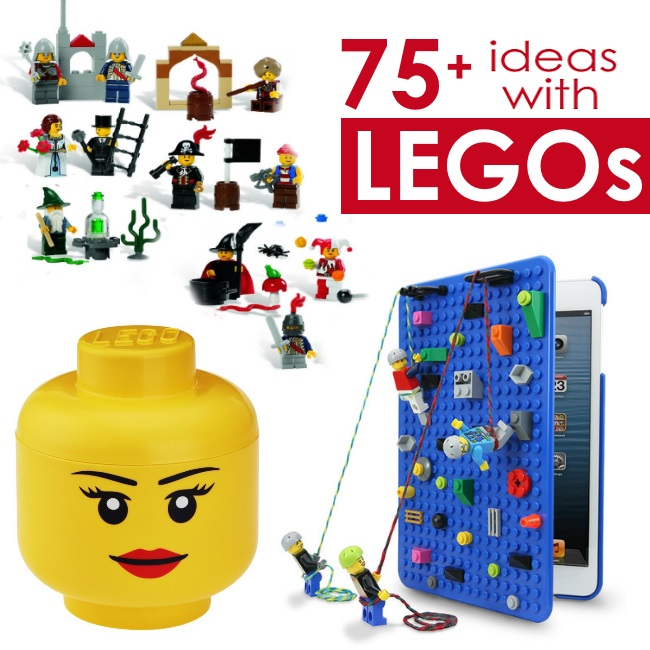 best lego products for kids - mini LEGO sets, LEGO storage, LEGO cover for ipad - 75 ideas with LEGOs