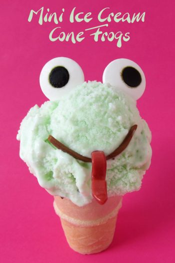 Mini Ice Cream Cone Frogs