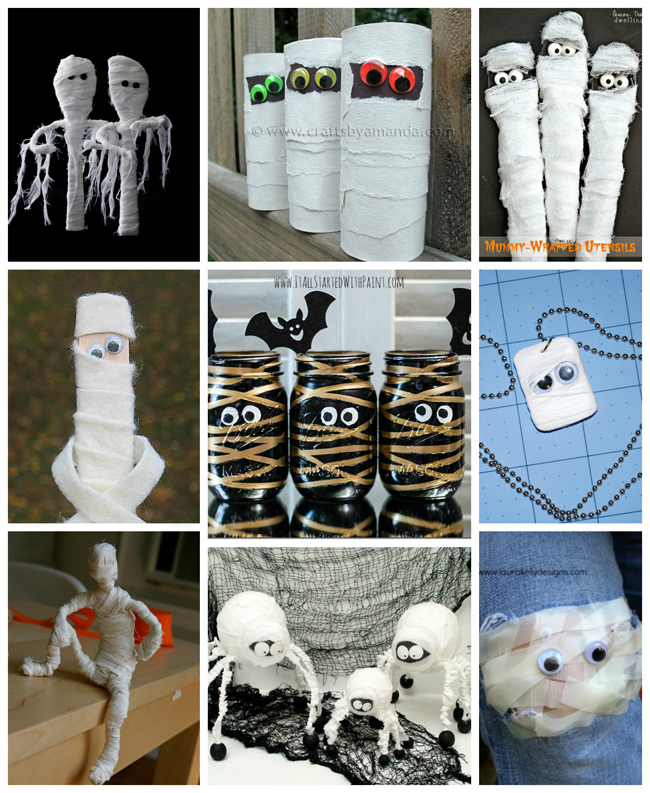 25 Mummy Crafts & Recipes Kids Will Love