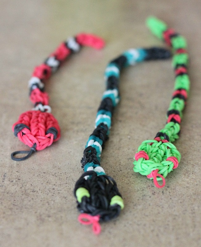 rainbow loom snakes for kids to make