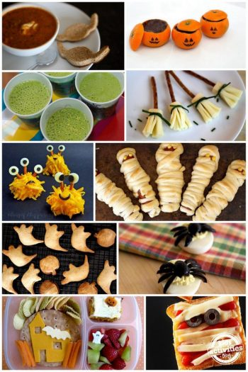 10 Super Cute Candy-Free Halloween Foods for Kids