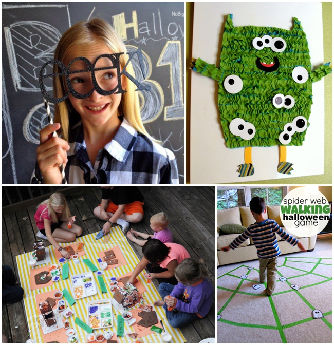 Halloween Games for Toddlers and Preschoolers Too