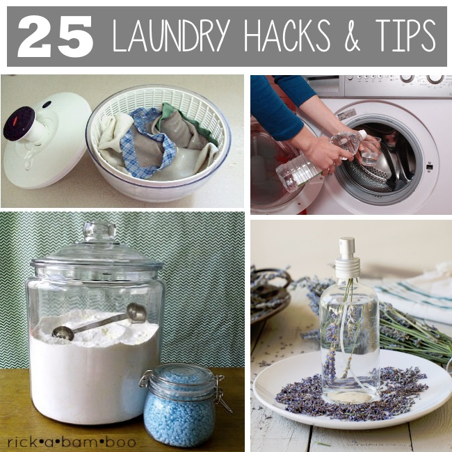 25 laundry hacks and tips - reduce laundry time with these clever ideas