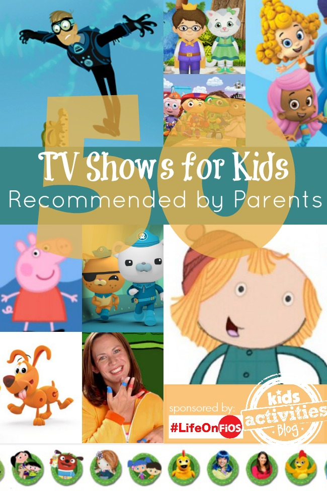 50 TV Shows for Kids Recommended by Parents - Kids Activities Blog