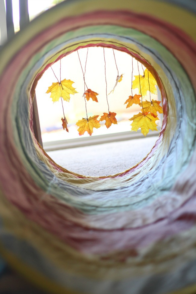 Baby Activity Tunnel with Fall Theme for Baby Games