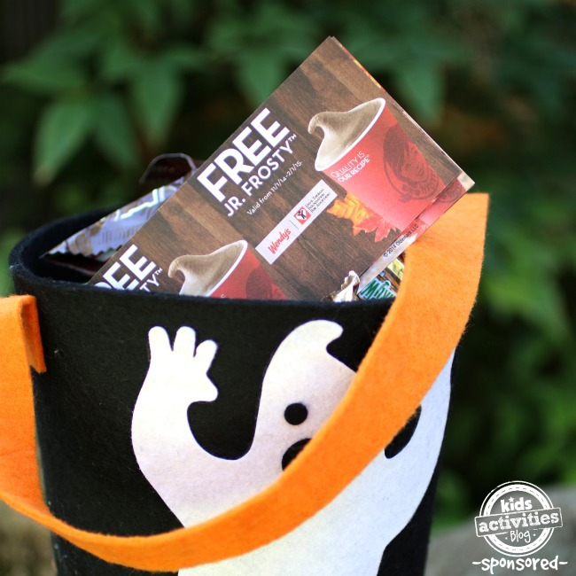 Free Jr Frosty Halloween Wendys coupon book