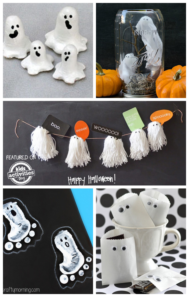 25 Ghost Crafts and Recipes