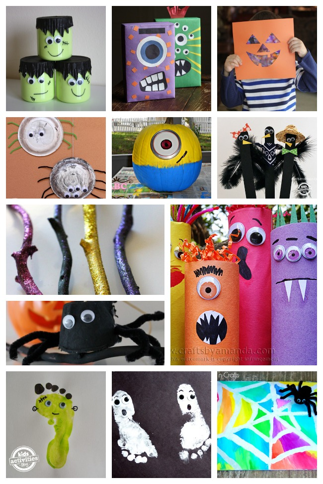 125+ Halloween Projects for Kids: A Huge List of Halloween Arts & Crafts