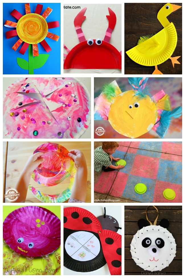 80+ Paper Plate Crafts for Kids