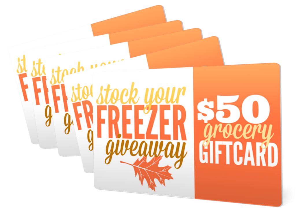 Stock Your Freezer Gift Cards