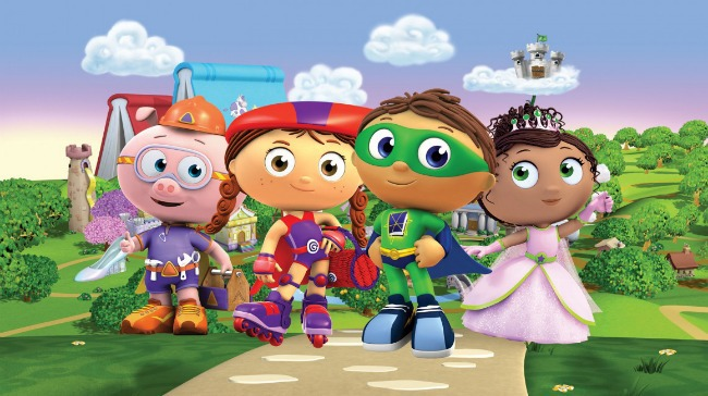 TV shows for kids - Super Why