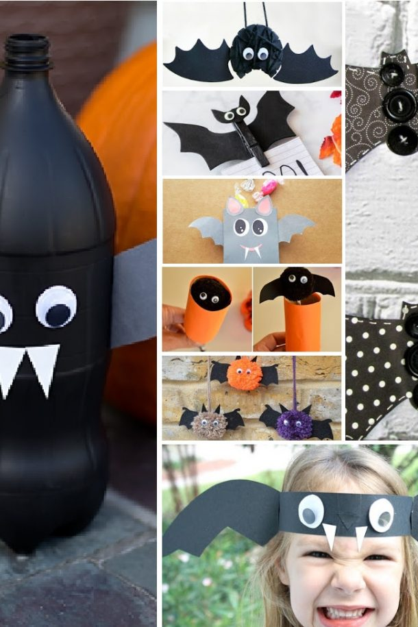 Fun Bat Craft Ideas To Add To Your Halloween Activities This Year