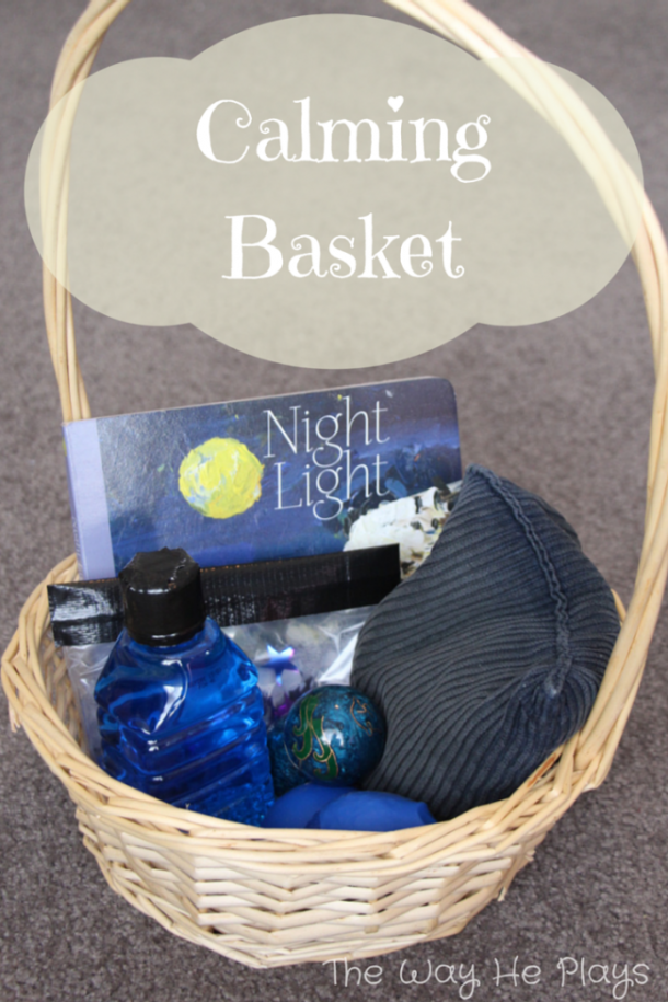 calming basket