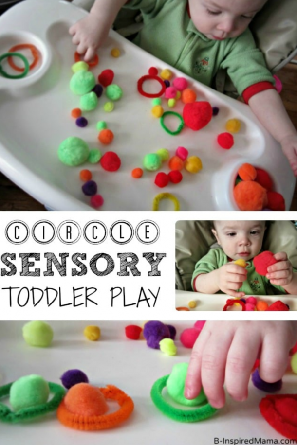 circle sensory toddler play