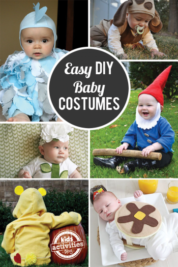 Easy and cute DIY Baby Costumes for Halloween