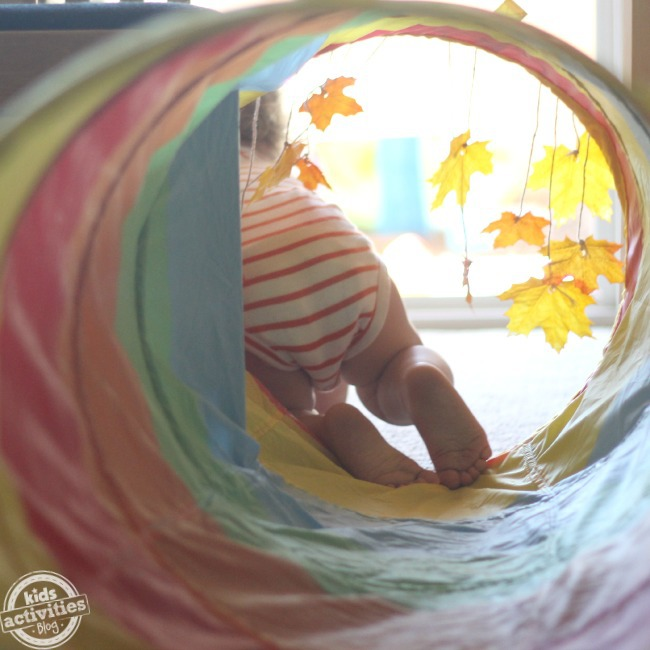 Make an easy fall baby game