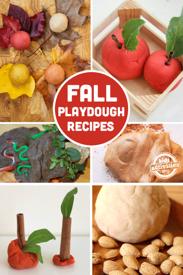 15 Fantastic Fall Playdough Recipes