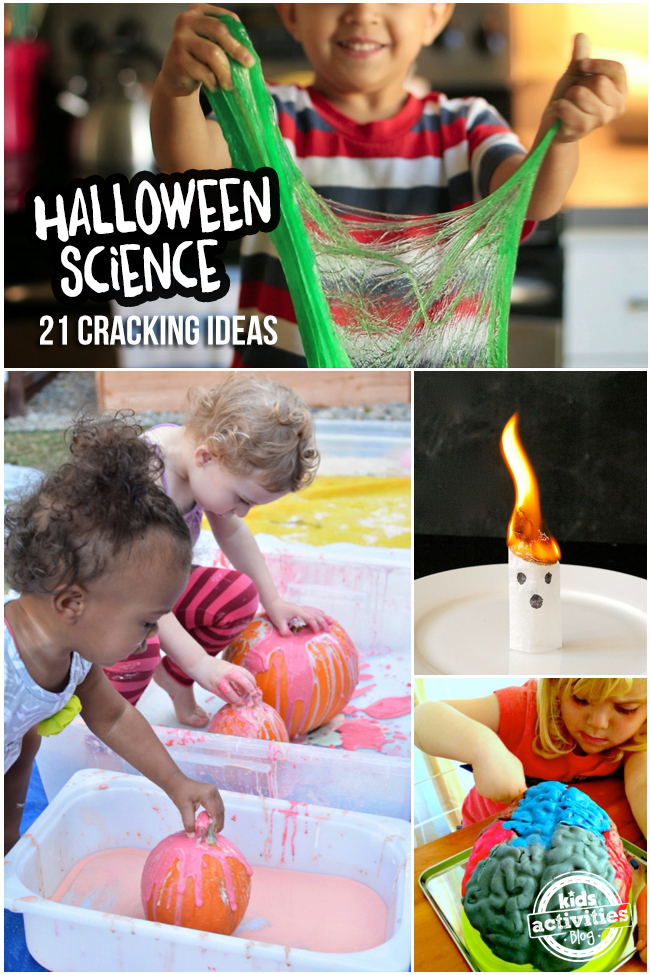 halloween science experiments - 21 Halloween-inspired Kids science experiments & activities