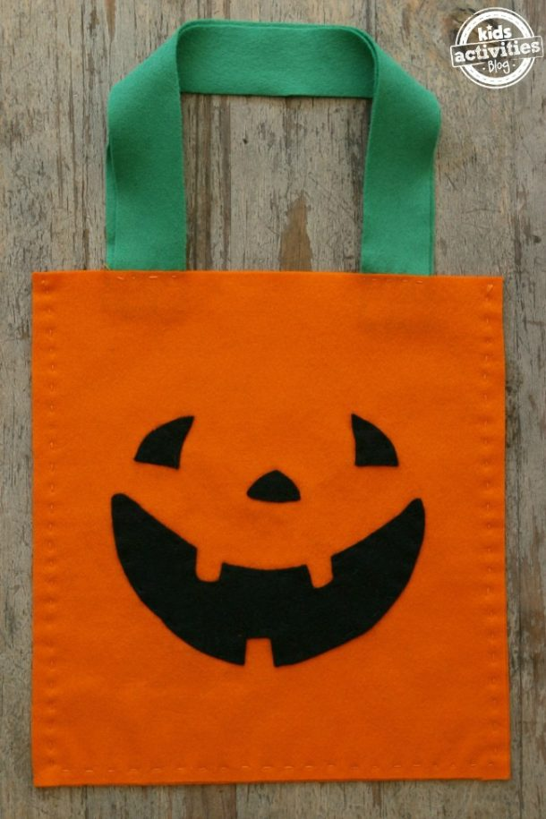 Sew This Cute Jack O'Lantern With Your Kids This Halloween