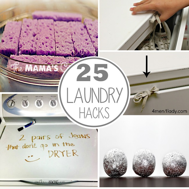 laundry room hacks that really work