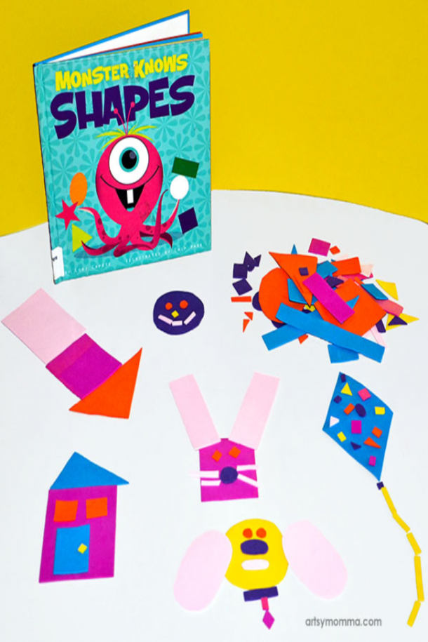 shapes busy bag