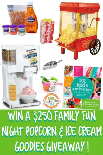 win a family fun ice cream night