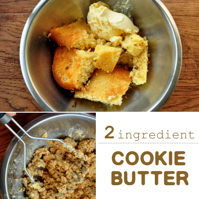 2 ingredient cookie butter