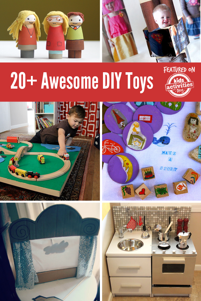 20 Awesome Diy Toys To Make For Your Kids