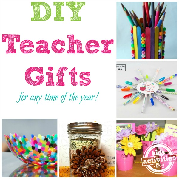 27 DIY Teacher Gift Ideas for Teacher's Appreciation Week