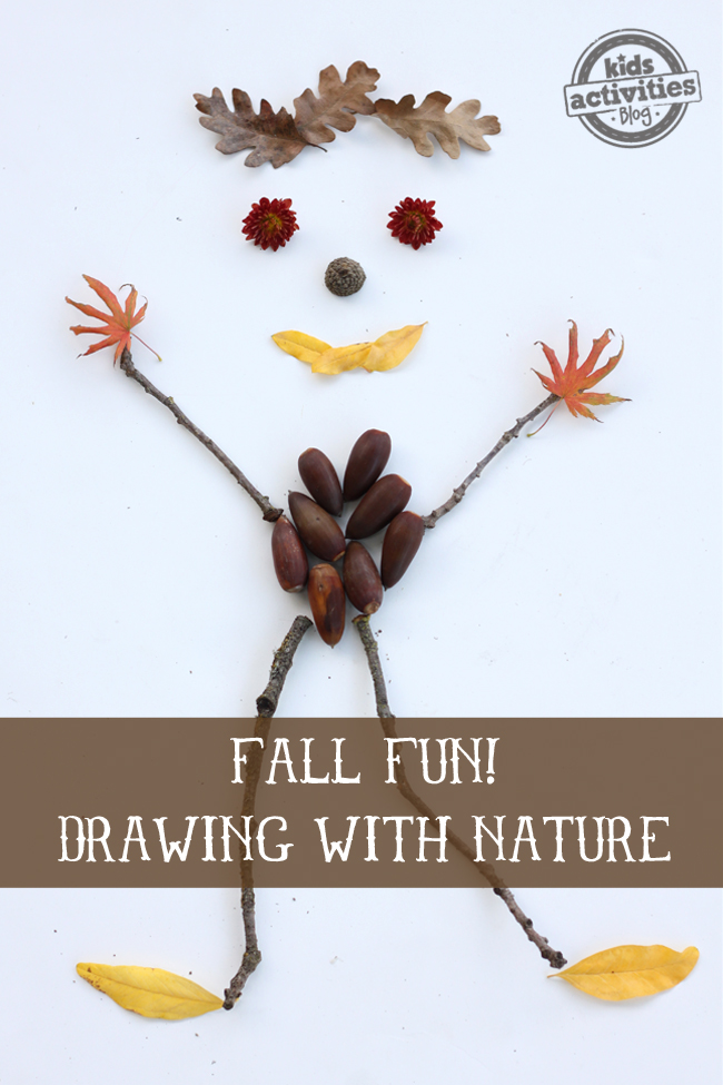 Fall Activity Drawing with Nature