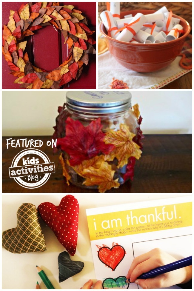 25 Thankfulness Activities For Kids