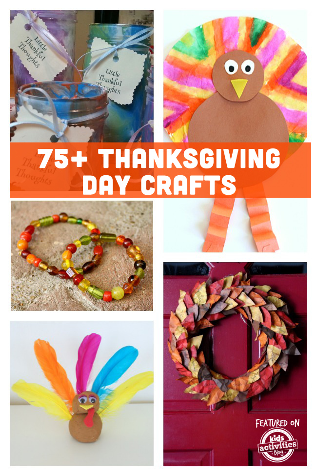 75+ Thanksgiving Crafts & Activities
