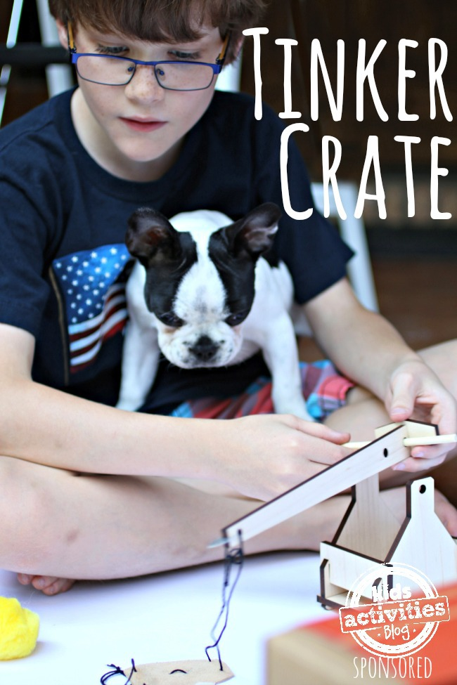 Tinker Crate Monthly Subscription Box - Kids Activities Blog