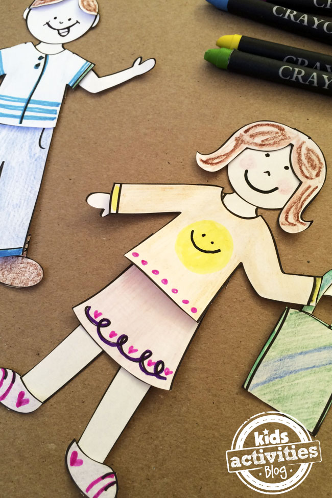Design My Own Paper Dolls created by Jen Goode