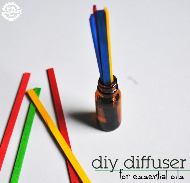 diy diffuser all you need is an old bottle of essential oils and thin craft wood sticks