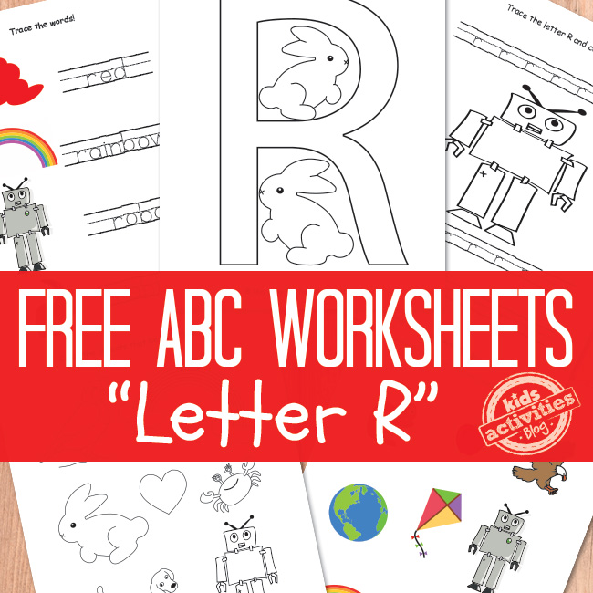 Letter R Worksheets Free Printable