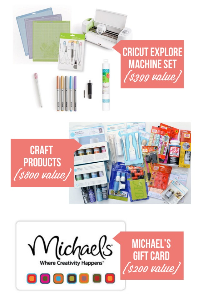 Big Crafters Giveaway worth $1400!