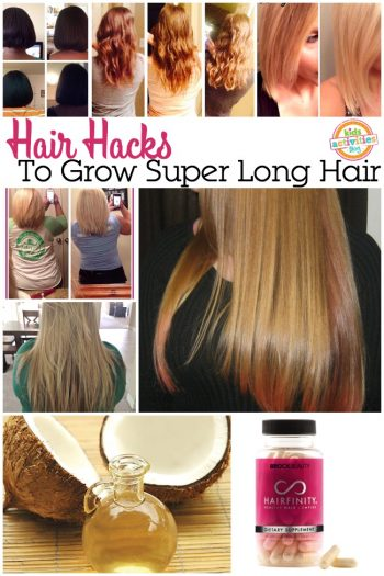 hair hacks to grow super long hair
