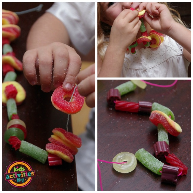 make your own candy necklaces