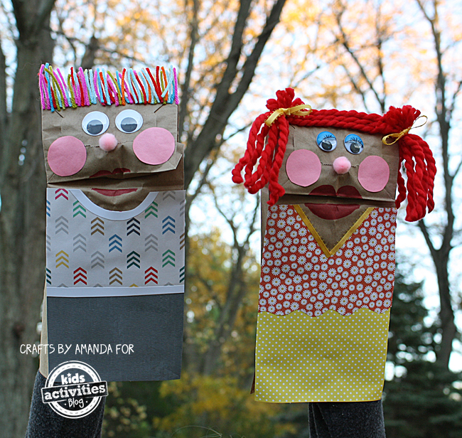 Classic Craft: Making Paper Bag Puppets by Amanda Formaro