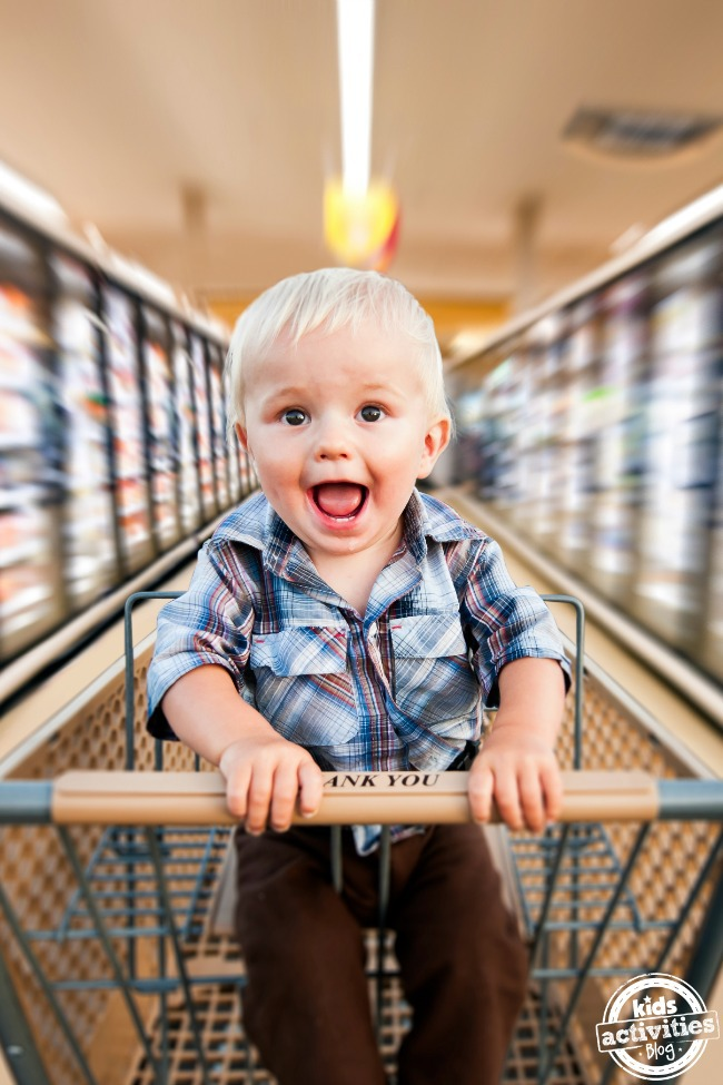 Tips for shopping with your kids