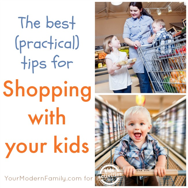 shopping with your kids (practical advice)