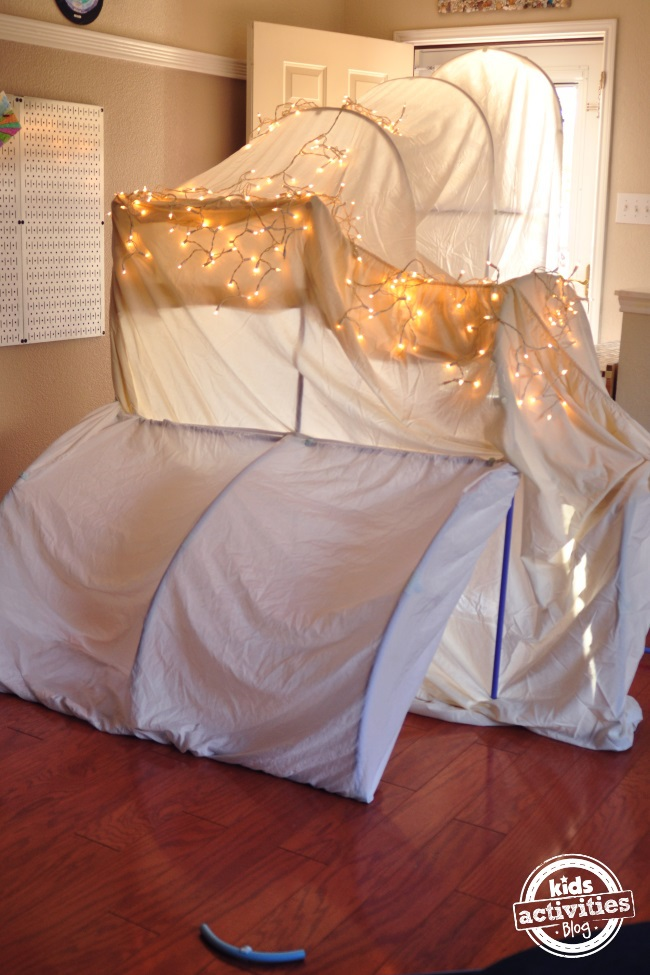 welcome tunnel or fort to celebrate your child